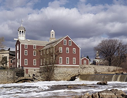 - Old Slater Mill Nexterior View Of The Old Slater Mill In Pawtucket Rhode Island Built By Samuel Slater In 1793 Photograph Mid 20Th Century Poster Print by (24 x 36)