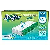 Swiffer Sweeper Wet Mopping Pad Refills for Floor Mop with Febreze Lavender Vanilla & Comfort Scent 36 Count (2 Pack)