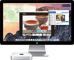 Apple Mac Mini MGEQ2LL/A Desktop (2.8GHz Dual-Core Intel Core i5, 8GB RAM, 1TB HDD, Mac OS), Silver
