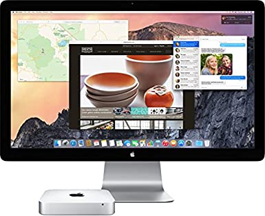 Amazon.com: Apple Mac mini, 2.6GHz Intel Core i5 Dual Core, 8GB RAM, 1TB HDD, Mac OS, Silver, MGEN2LL/A (Newest Version)