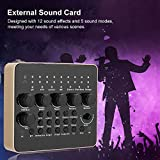 V10 Live Broadcast Sound Card, Support Bluetooth