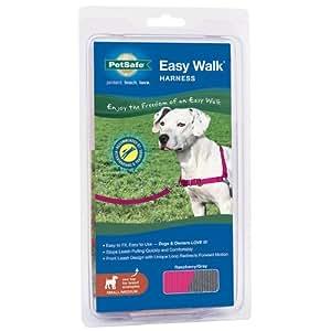 PetSafe Easy Walk Dog Harness, Small/Medium, Raspberry