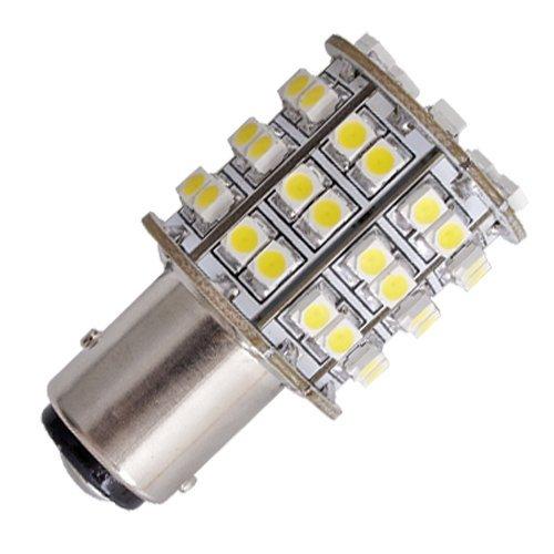 TOOGOO (R) T25 BAY15D 3496 1158 60 SMD LED bombilla Lampara coche: Amazon.es: Hogar