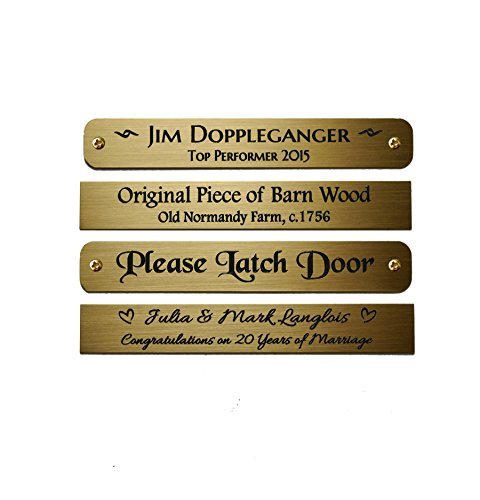 Engraved Photo Plaques (Size: 3-1/2