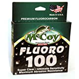 McCoy Fishing Fluoro 100 Fluorocarbon Fishing Line, 200-Yard/4-Pound