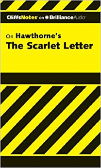 the scarlet letter cliffs notes series audiobookcdunabridged
