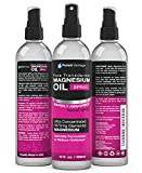 Pure Magnesium Oil Spray - LEAST ITCHY and Highest Potency - ONE 12fl