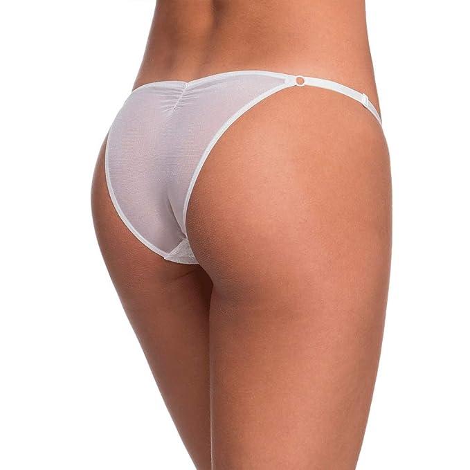 dcad04e0ae Calcinha String Tule Isabela  Amazon.com.br  Amazon Moda