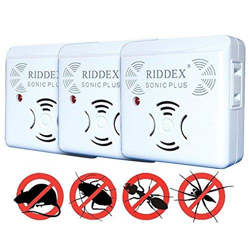 3-Pk. Riddex Sonic Plus ()