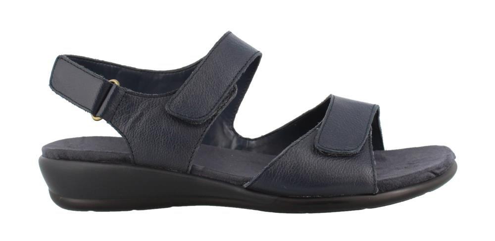 Easy Spirit Hartwell Low Heel Sandals Navy 8 W
