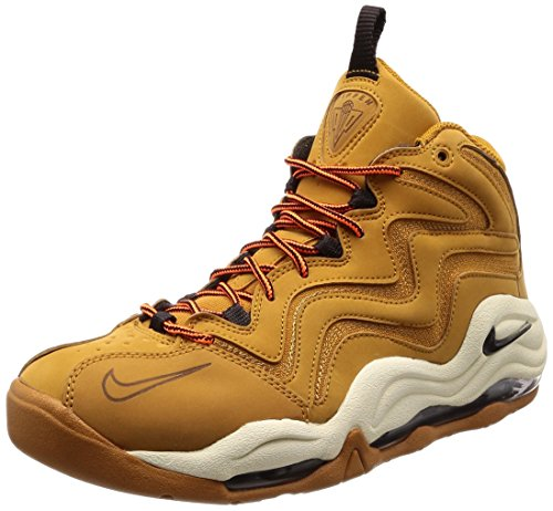 Nike Mens Air Pippen Leather Trainer Basketball Shoes (9.5) ()