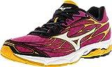 Mizuno Women's Wave Catalyst Running Shoe, Fuchsia Purple/Silver, 6.5 B US For Sale