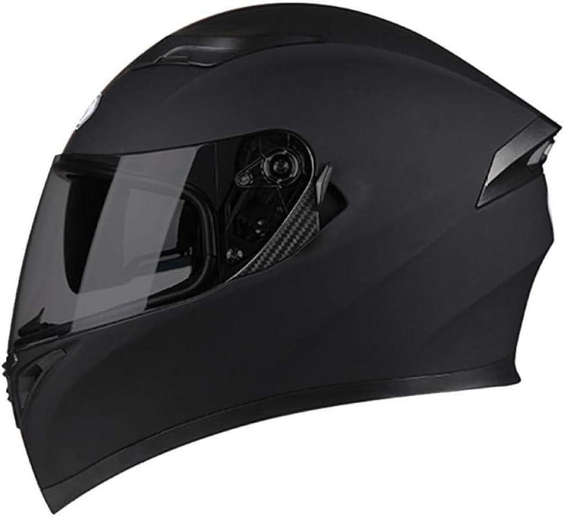 Helm m/änner und Frauen Motorrad voller Helm elektrische Motorrad Batterie Dekoration pers/önlichkeit Sommer Jahreszeiten