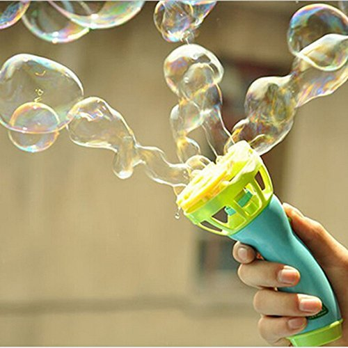 Electric Bubble Gun Automatic Bubble Water Gun Outdoor Children Bubble Blowing Toy K0121