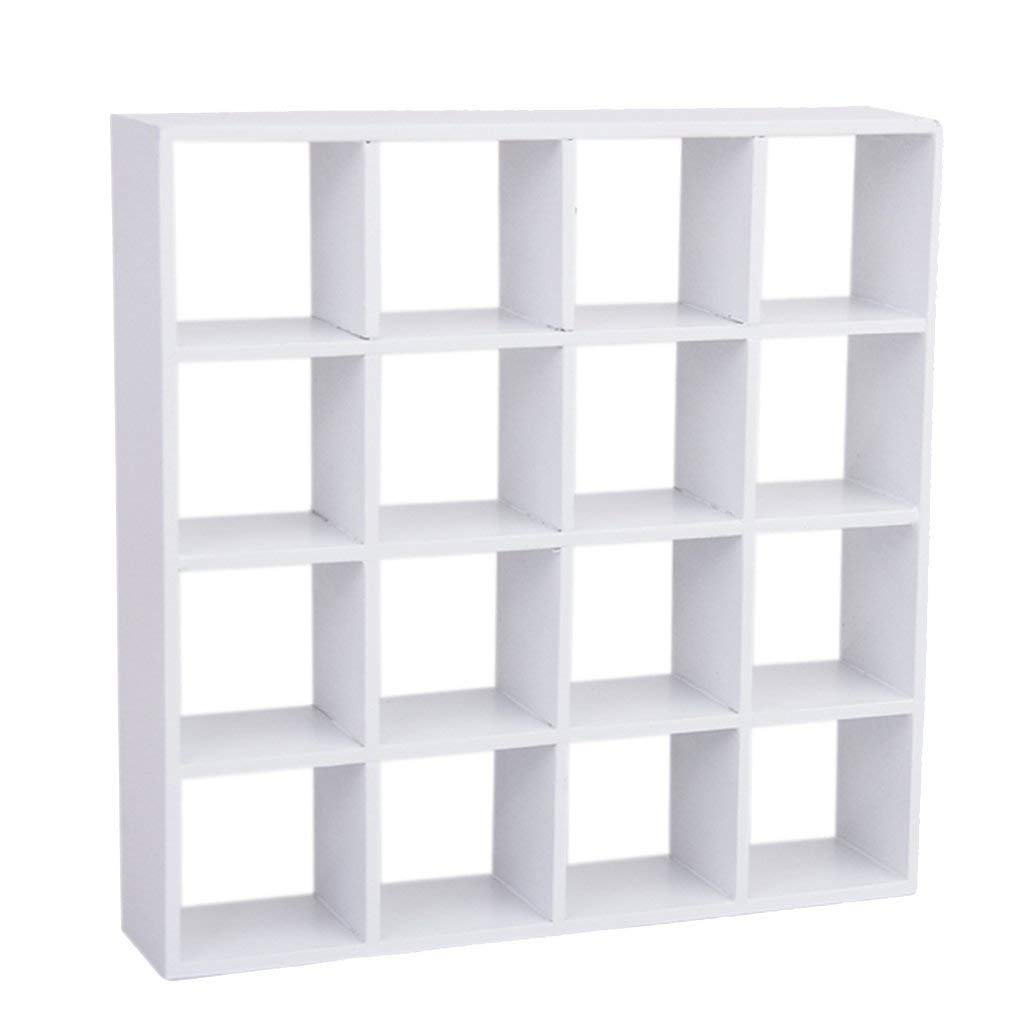 YaptheS Mini 4-Layer Wooden Display Shelf for