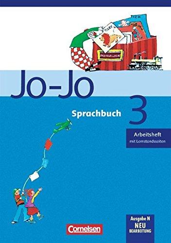 Jo-Jo Sprachbuch - Ausgabe N: 3. Schuljahr - Arbeitsheft: Mit Lernstandsseiten