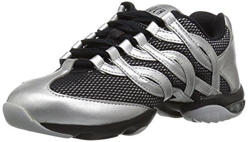 Bloch Women's Twist Dance Shoe, Silver, 13 Medium US