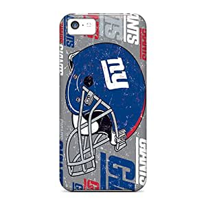 AnnaDubois Iphone 5c Scratch Resistant Hard Cell-phone Cases Support Personal Customs Nice New York Giants Image [Kaz1638bxKQ]