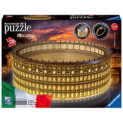Ravensburger Colosseo Night Edition 3d Puzzle Multicolore 11148