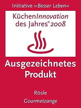 R/ösle RS12916 Pince traiteur 30 cm  acier inox 18//10