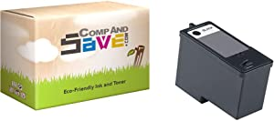CompAndSave Replacement for Dell 926 All-in-One Printer Inkjet Cartridge, Dell MK992 / MK990 Black Series 9 Ink Cartridge