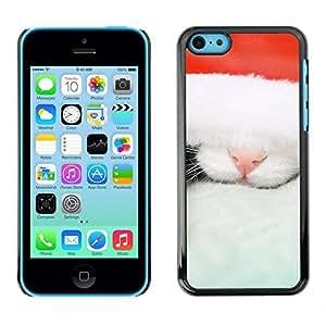 YOYO Slim PC / Aluminium Case Cover Armor Shell Portection //Christmas Holiday Cat Kitty 1115 //Apple Iphone 5C