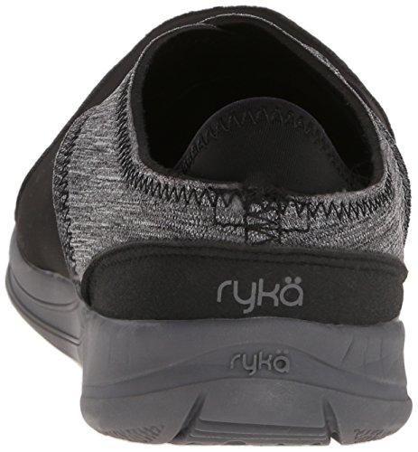 RYKÄ Mantra–Noir/Gris Sandales Yoga Pilate Chaussures