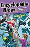 img - for Encyclopedia Brown Lends A Hand (Turtleback School & Library Binding Edition) book / textbook / text book