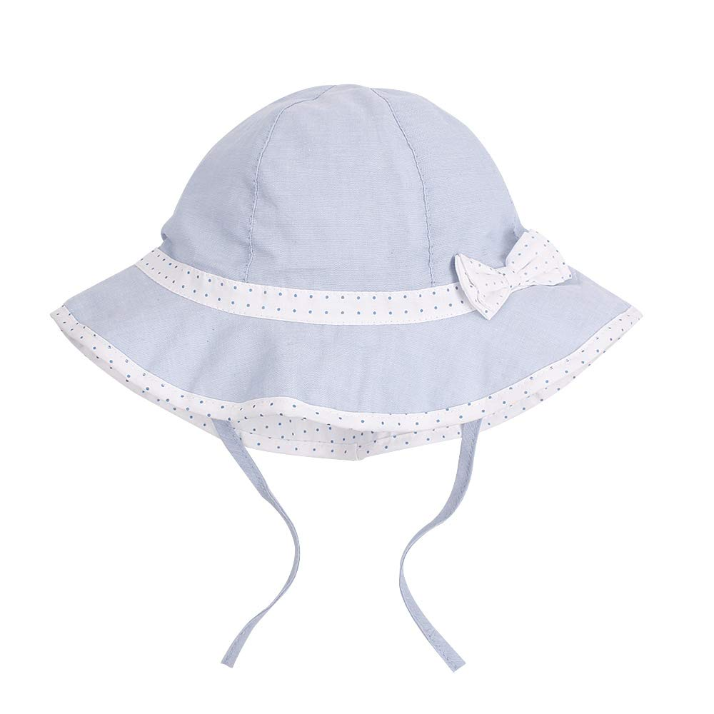 JANGANNSA Baby Girl Uv Protective Hat Sun Protection Cap Stay-On Spring Summer