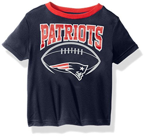dren Boys Short sleeve Tee, 18 Months, Patriots (New England Patriots Infant)