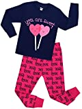 Girls Pajamas Christmas Gift Children Hear Clothes Size 7 Years