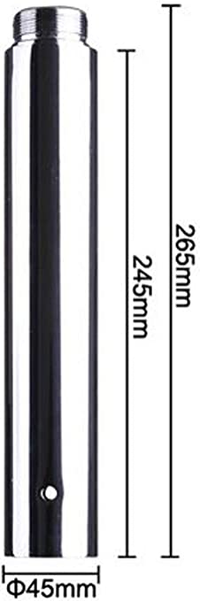 Wacces 250mm Dance Pole Extension for 45mm Dance Pole Fitness Spinning Exercise Accessories