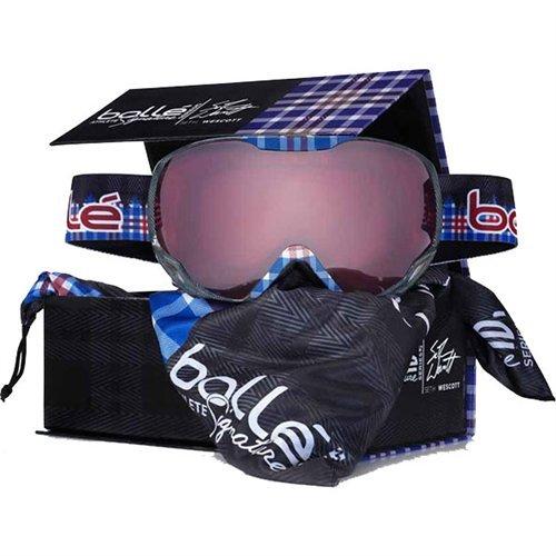 Bolle Emperor Ski Goggles (Seth Wescott Signature Series, Vermillon Gun - Seth Sunglasses