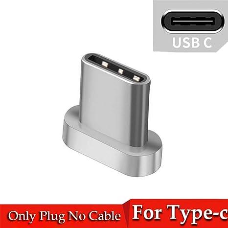 TOUSHI Cable Cargador Cable Micro USB magnético de 8 Pines ...
