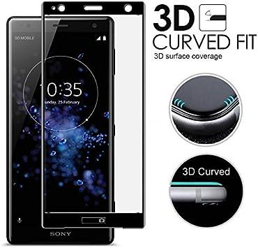 Sony Xperia XZ3 Protector de Pantalla Vidrio Templado Clear Cristal de Alta Definición de Vidrio Templado con Antiarañazos Protector de Película a Prueba de Huellas Digitales para Sony Xperia XZ3: Amazon.es: Electrónica