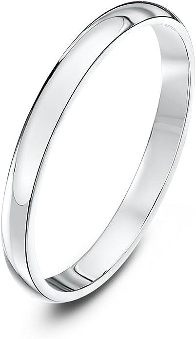 950 Platinum Wedding Rings Court Comfort X Heavy 2mm 3mm 4mm 5mm 6mm UK HM Bands