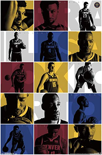 Trends International Denver Nuggets-Team Wall Poster, 22.375