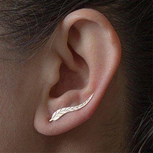 Rurah Ear Crawler Cuff Earrings Ear