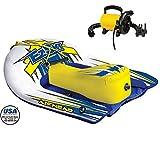#5: Airhead EZ Ski Inflatable Kids Skier + SportsStuff Electric Pump