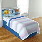 Emoji Full Bed Sheets emoji The Movie The Cloud 4 Piece Microfiber Full Sheet Set
