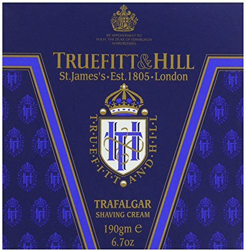 Truefitt & Hill Shave Cream Tub - Trafalgar,6.7OZ (Shave Tub Cream)