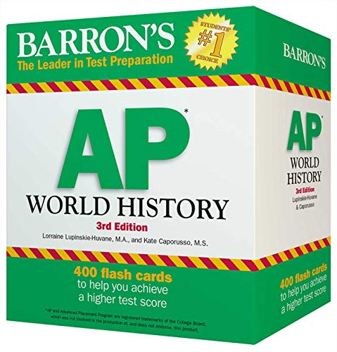 Pdf Teen Barron's AP World History Flash Cards