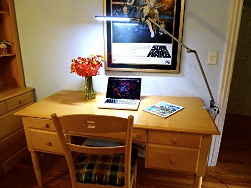 Draftsmans Lamp - Lumiy Draftsman 2750S Ultra Bright LED Desk Light Table Lamp - White