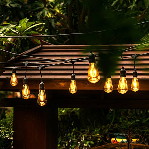 Clear Led Filament String Lights - 8