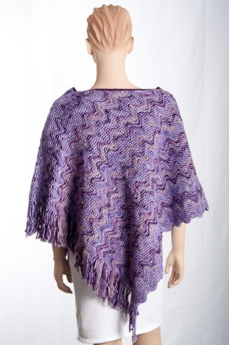Label Missoni ON 95 Orange 70 Poncho x Multicolore cm ZggnSaEqw