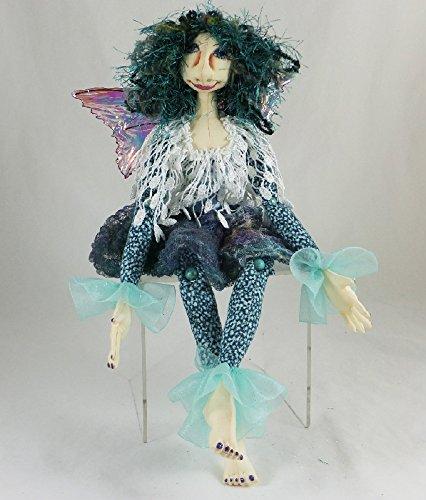 Cloth Doll Fairy, Betome the Faery Art Doll, OOAK Doll, Handmade Doll, Collector Doll