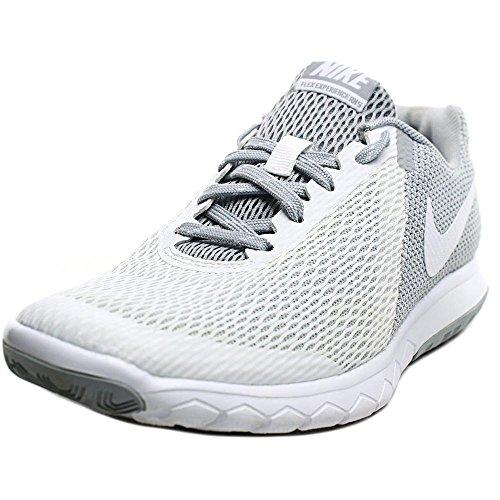 NIKE Womens Flex Experience RN 5 Running Shoe White/White/Wolf Grey 7 B(M) - Ambassador Running Brand
