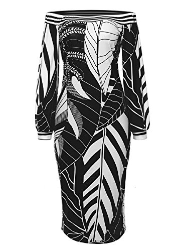 Mystry Zone Womens Elegant Slim Fit Midi Work Dresses Colorblock Long Sleeve Bodycon Pencil Dress Black Large Colorblock Jacket Dress