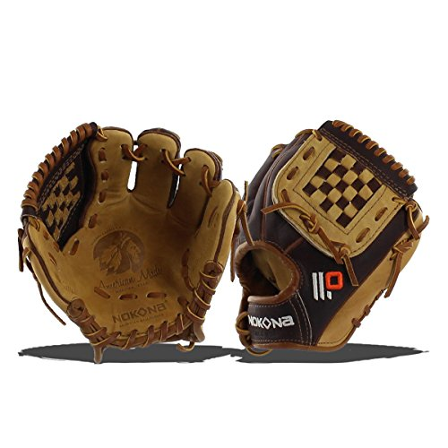 - Nokona Alpha Select 9 inch Baseball Glove Ages 3 to 7 Left handed Throw