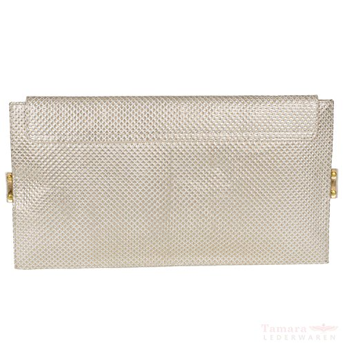 Boca 305-s sac à main pour femme en cuir clutch 32,5 x 18 x 3,5 cm d'or